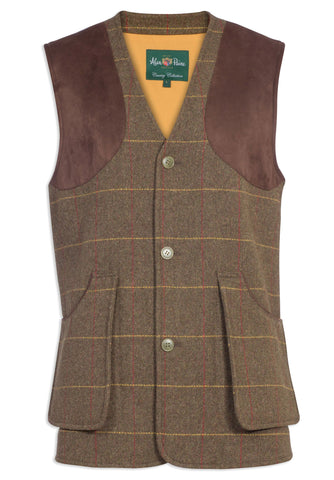Alan Paine Combrook Shooting Waistcoat | Forest Green