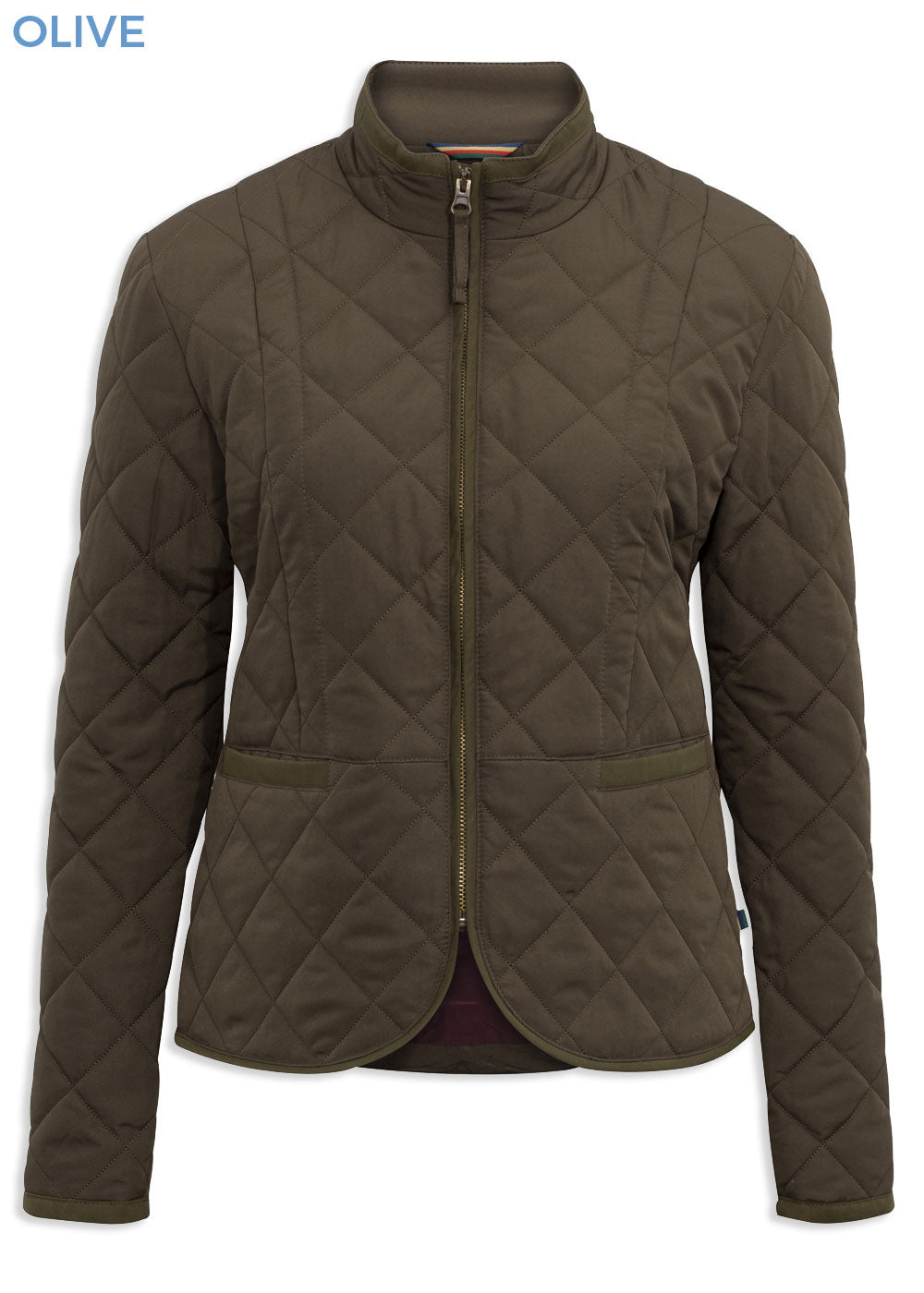 Olive Alan Paine Surrey Ladies Country Quilt Jacket