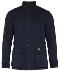 Felwell Men's Quilted Jacket by Alan Paine Navy
