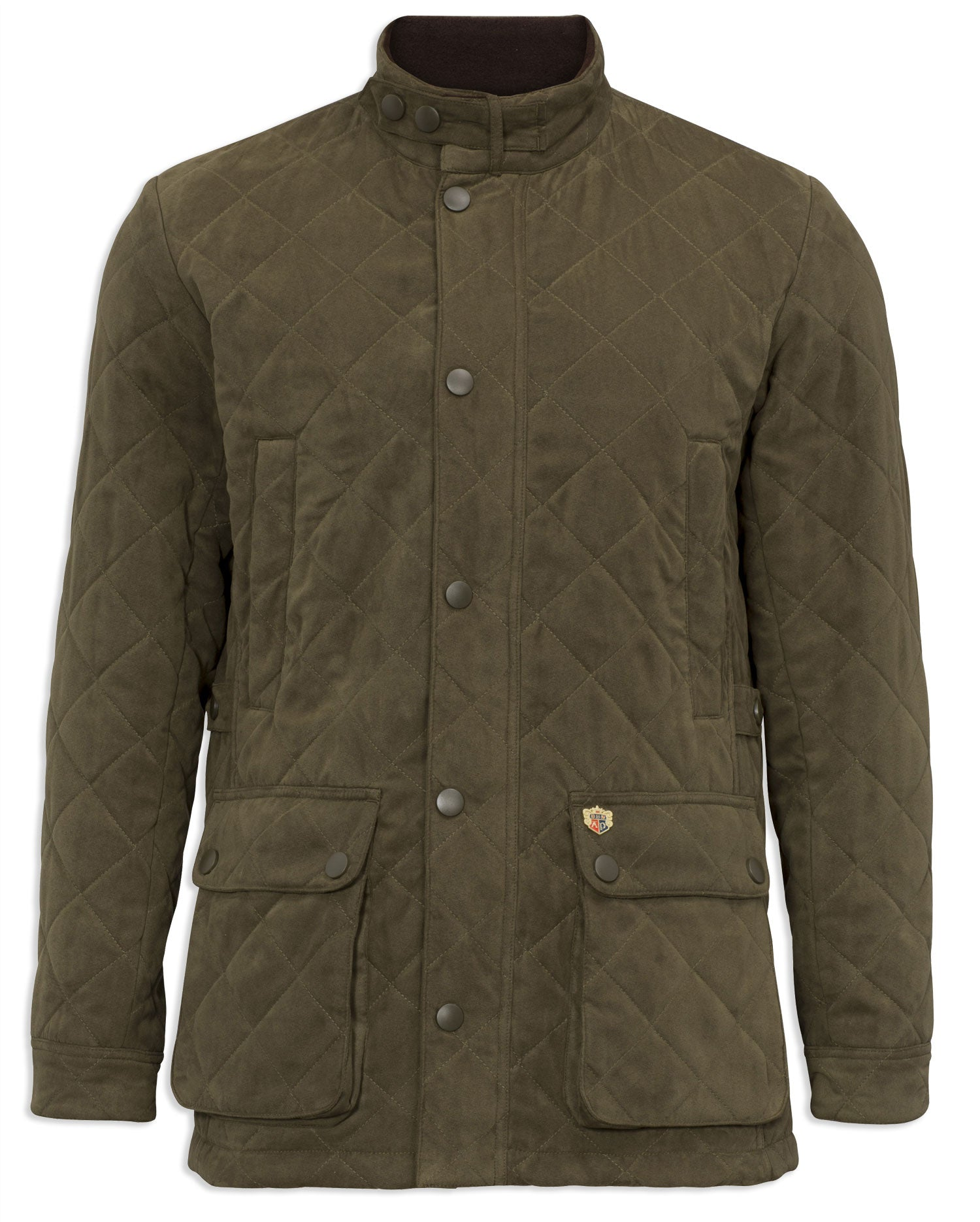 Felwell Men's Quilted Jacket by Alan Paine olive
