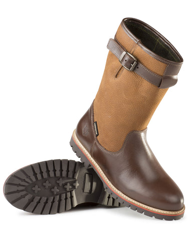 Alan Paine Ladies Short Waterproof Country Boot