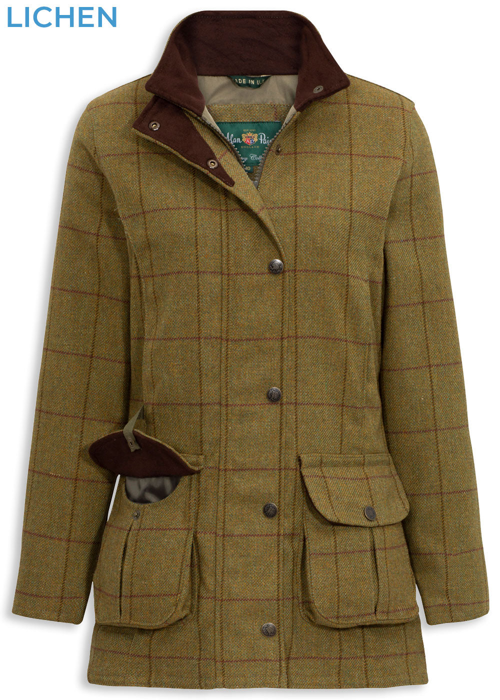 Lichen Alan Paine Rutland Ladies Waterproof Jacket