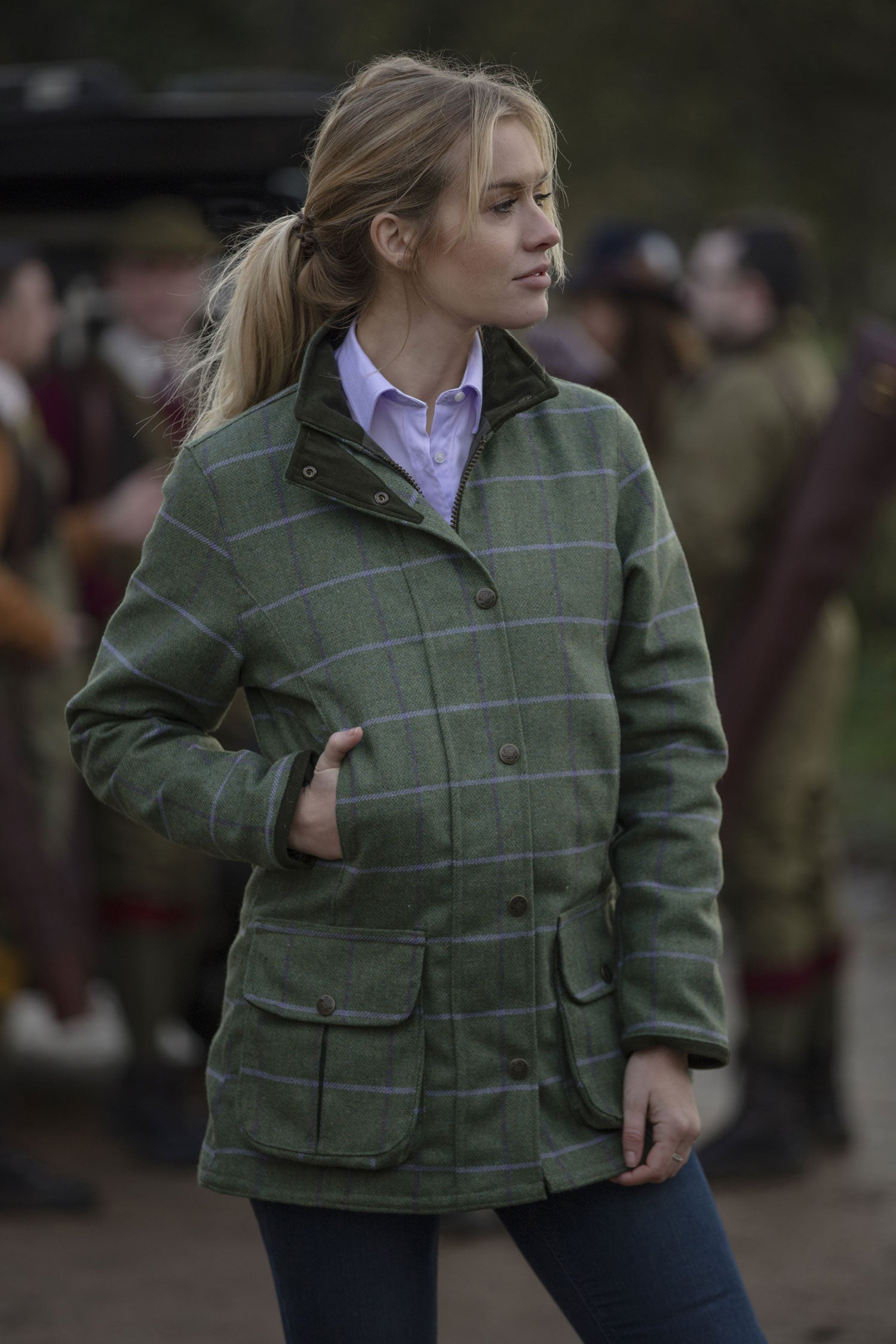 Alan Paine Rutland Ladies Waterproof Jacket | Palm