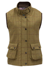 Rutland Tweed Shooting Waistcoat by Alan Paine