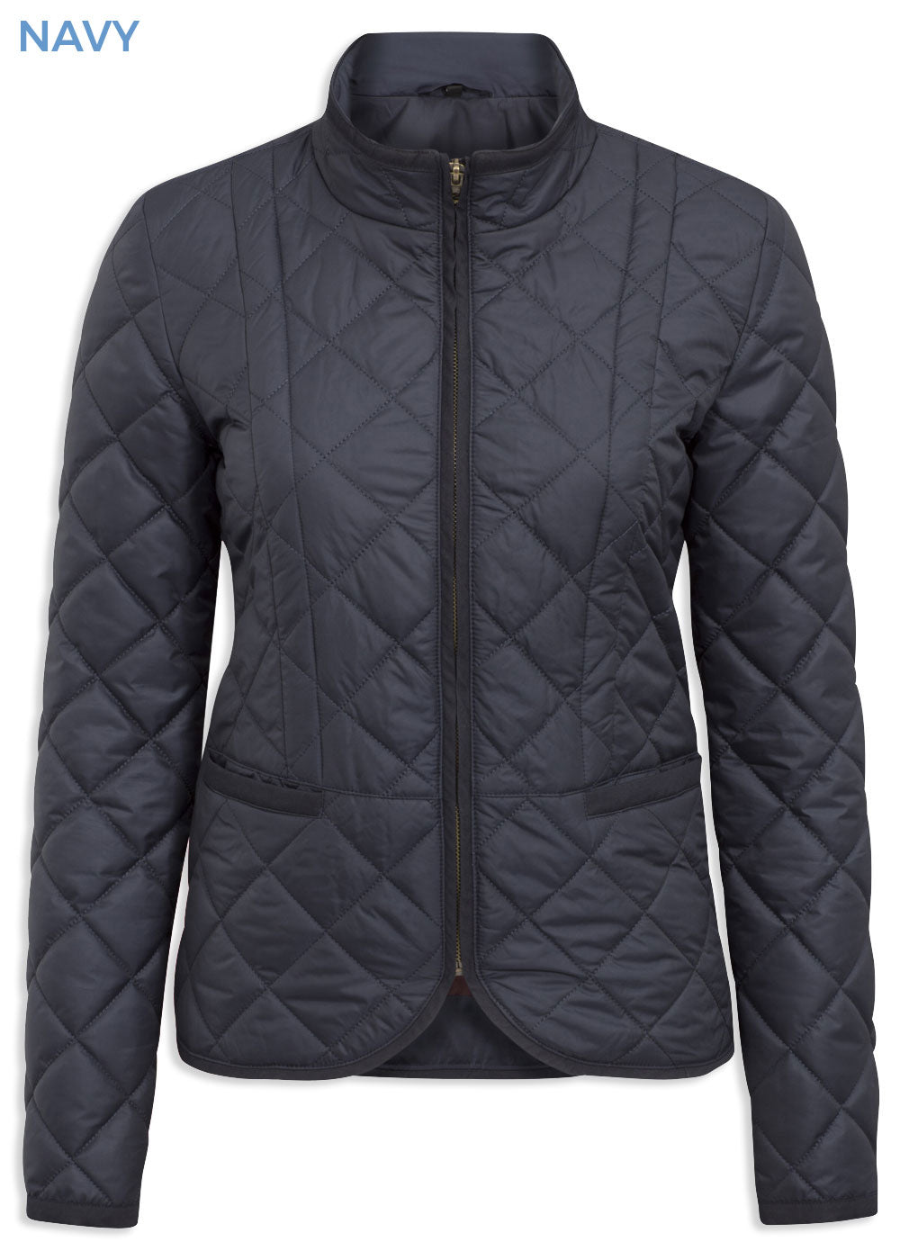Alan Paine Surrey Ladies Country Quilt Jacket Navy