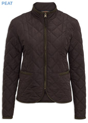 Peat Alan Paine Surrey Ladies Country Quilt Jacket