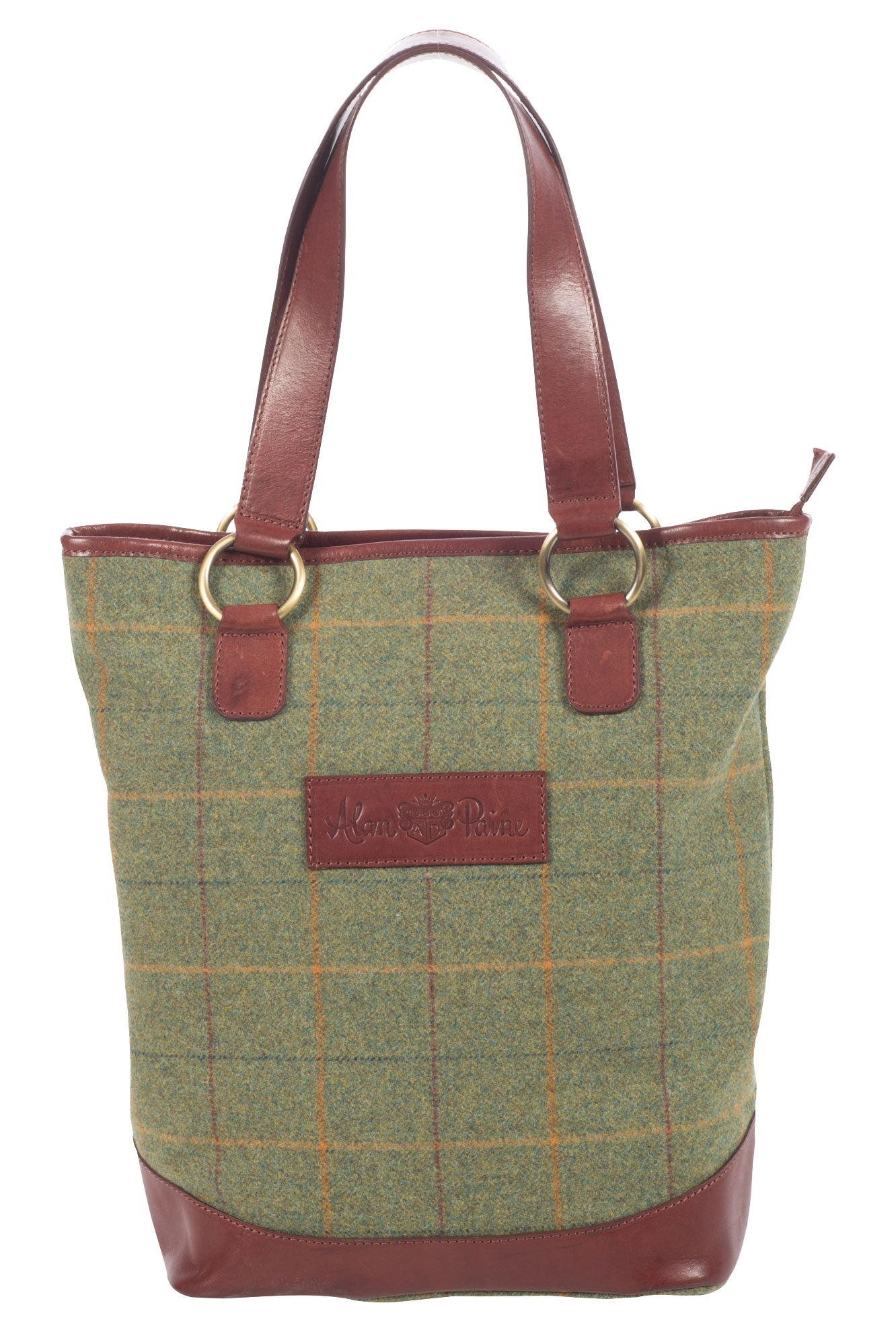 Alan Paine Tweed Tote Bag | Landscape wool tweed