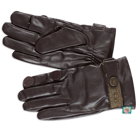 Alan Paine Men's Leather Shooting Gloves