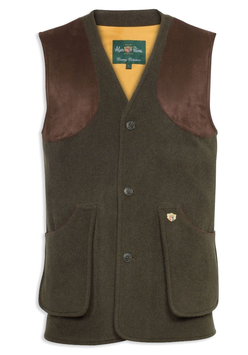 Alan Paine Loden Shooting Waistcoat