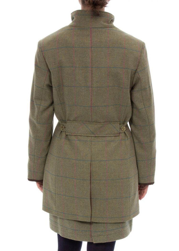 Back View Alan Paine Combrook Field Jacket | Juniper
