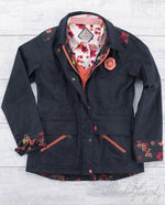 Jack Murphy Alex Waxed Cotton Jacket shown with matching shirt