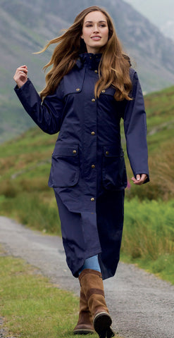 Jack Murphy Alva Ladies Long Waterproof Coat