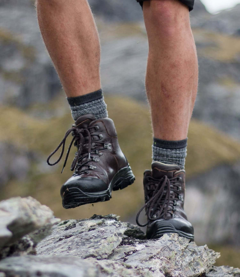 On the rocks with Anatom Q3 Braeriach Leather Hiking Boots