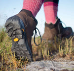 Showing the heel and sole unit Anatom Q2 Women's Ultralight Leather Hiking Boots
