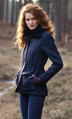 lady in jack murphy tweed coat jacket ashley