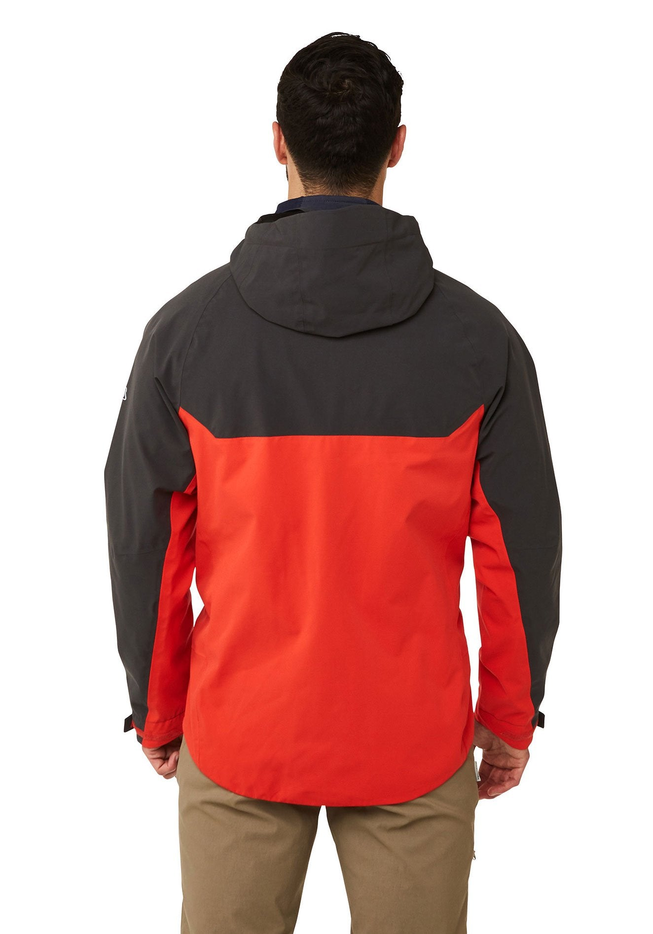 Back View Trelawney Waterproof Breathable Jacket by Craghoppers