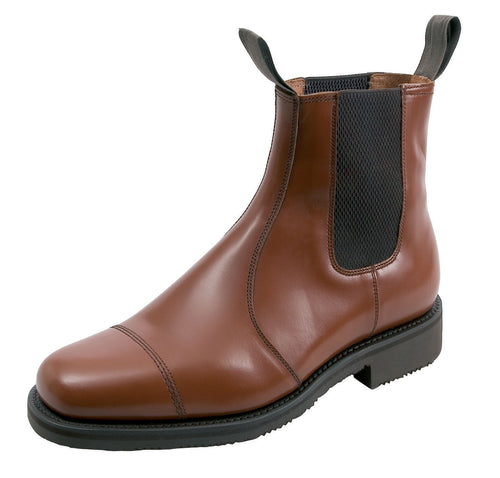 Hoggs Ayr Leather Dealer / Market Boot with Rambler Sole
