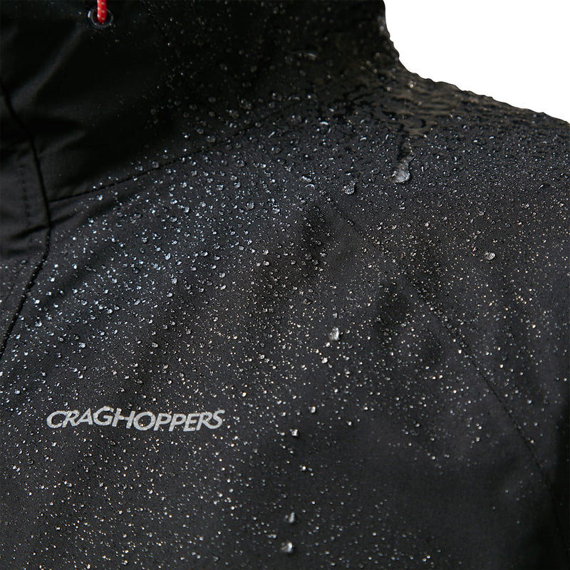 Logo Black Craghoppers Orion Waterproof Jacket