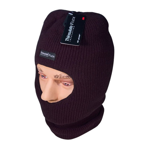 Black Flex Thinsulate Open-Face Balaclava