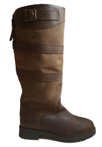 Catesby BROADWAY II Oak/Bison Leather High Leg Country Boot