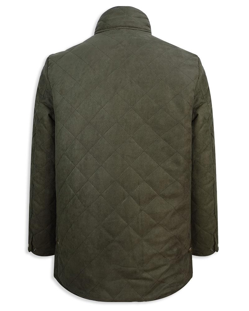 Back View Hoggs of Fife Carlton Quilted Jacket