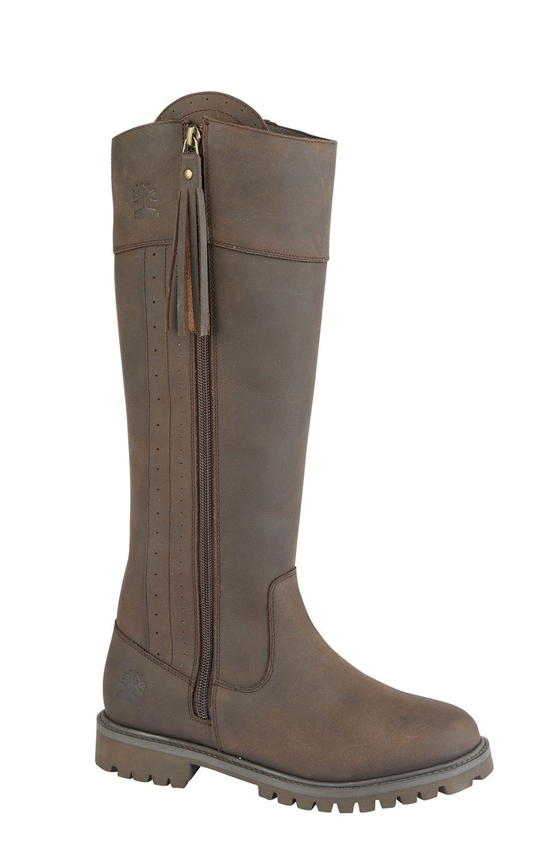 Woodland Bailey Waxy Leather Country Boot