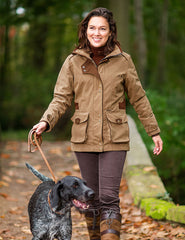Dog Walking Ladyfield Ladies Waterproof and Breathable Coat by Baleno