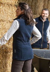 Back View Baleno Fairway Fleece Gilet