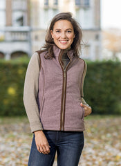 Heather Kate Ladies Fleece Waistcoat by Baleno