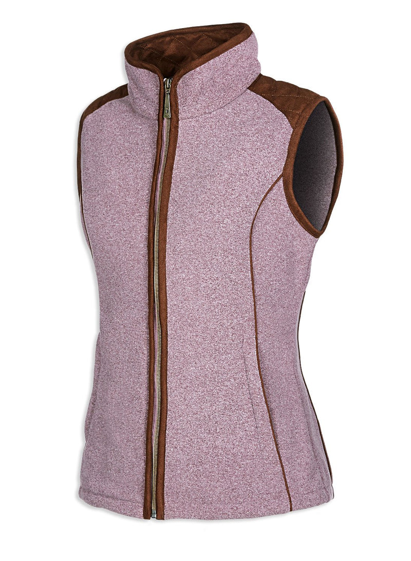 Heather Baleno Kate Fleece Gilet
