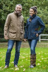Couple wearing Baleno Coats