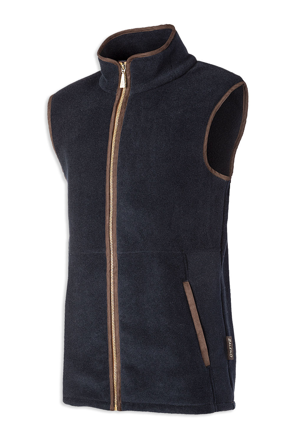 Navy Baleno Highfield Fleece Gilet