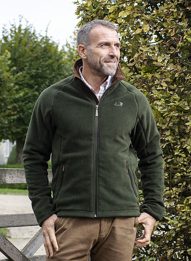 Green country Man's Fleece by Baleno