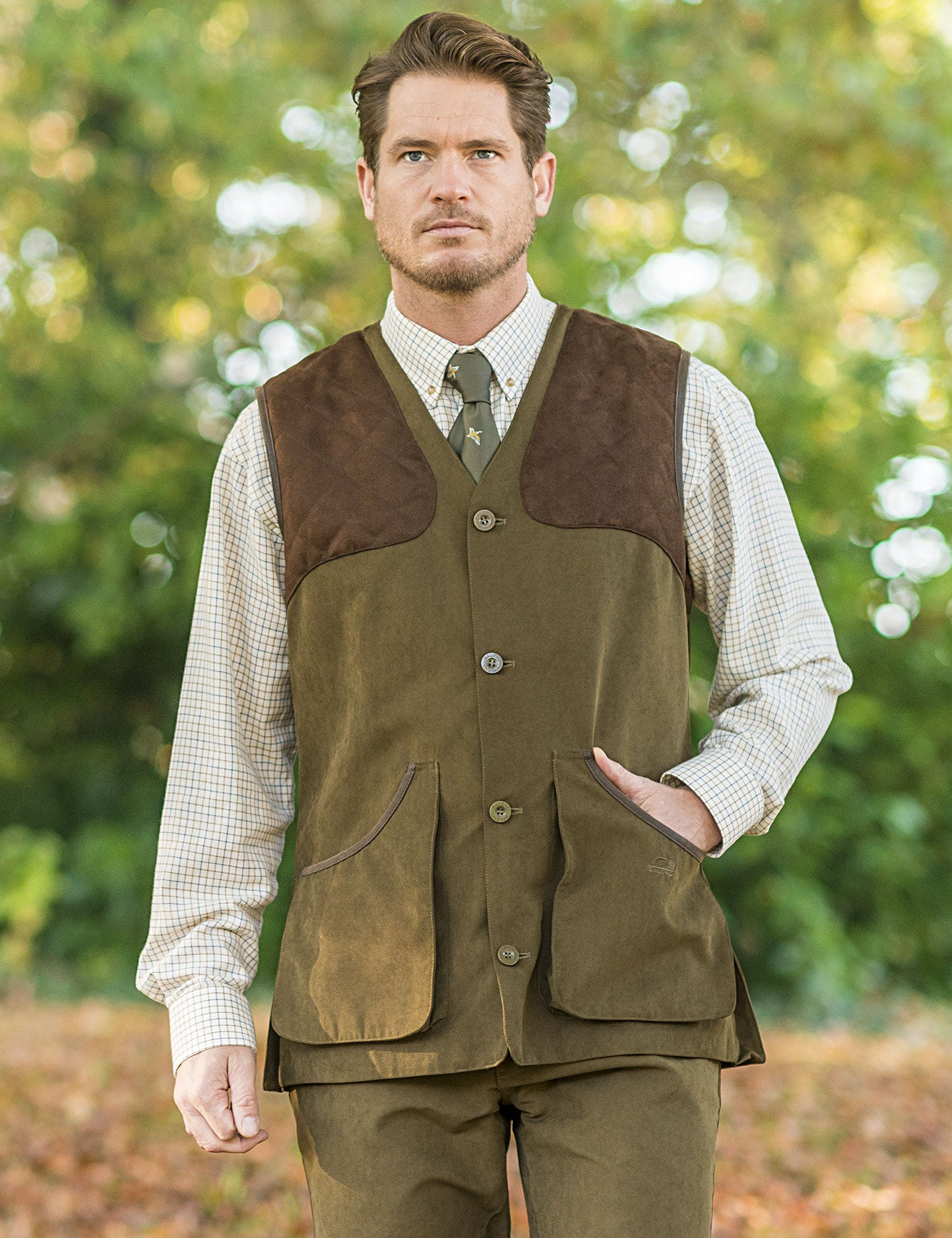 Dolman Traditional Shooting Vest by Baleno