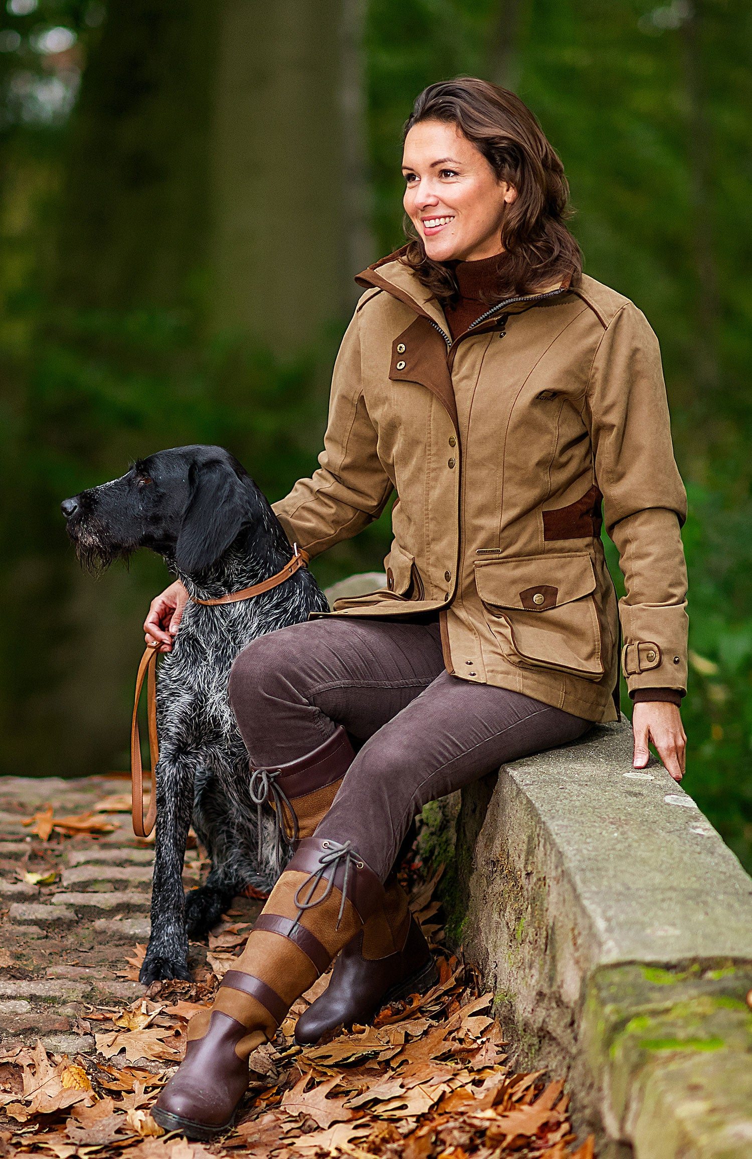 Camel Ladyfield Ladies Waterproof and Breathable Coat by Baleno