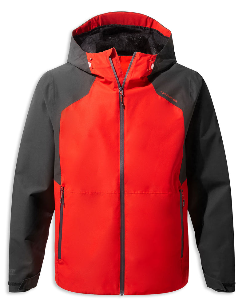 Aster Red Balla Waterproof Jacket by Craghoppers