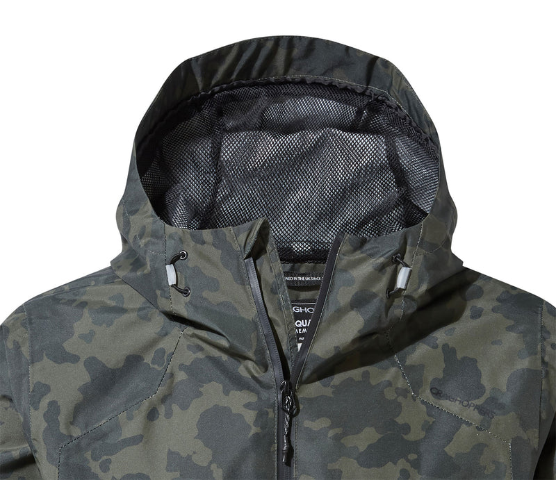 Grown on hood with mesh lining Camo