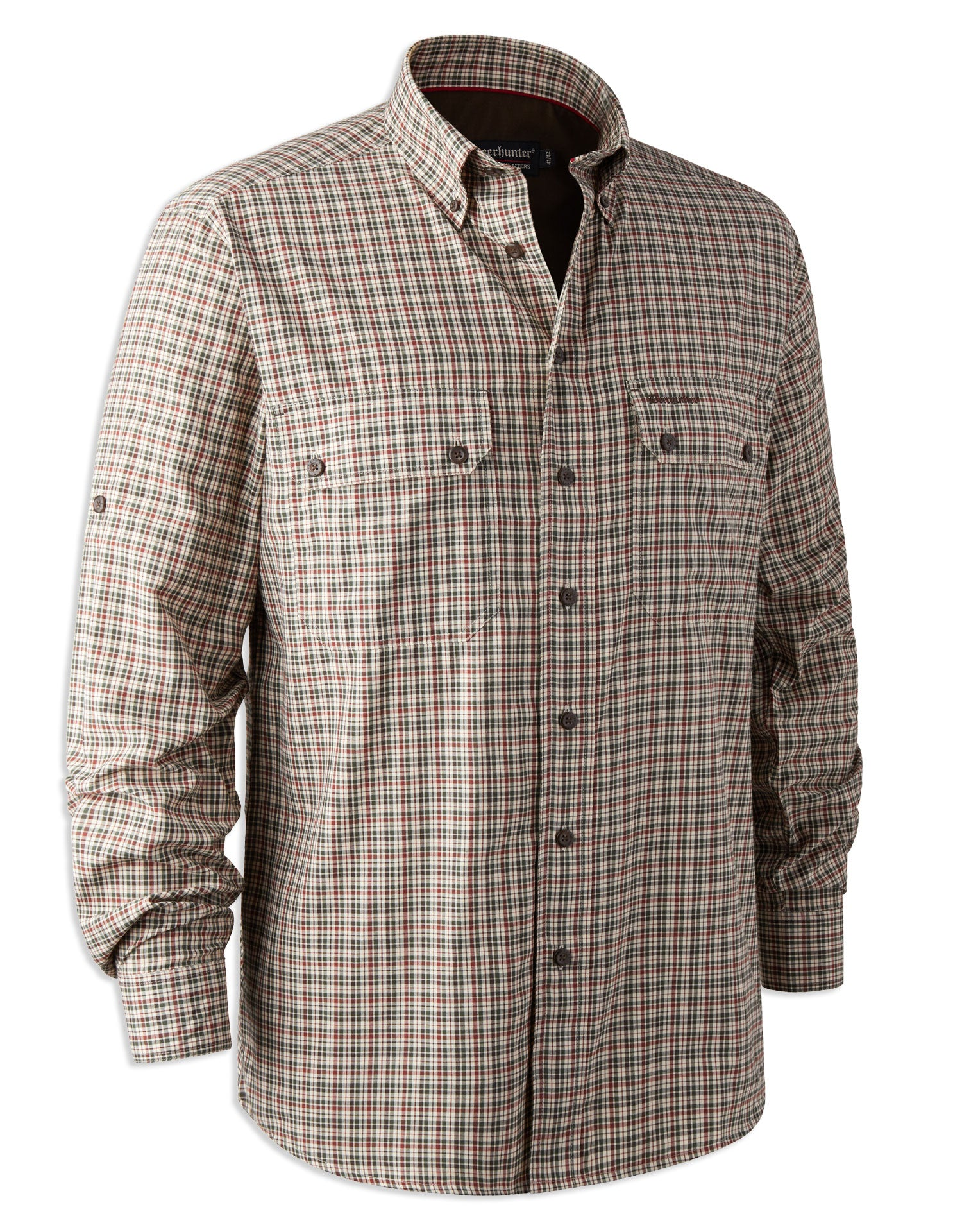 Deerhunter Ridley Bamboo Check Shirt with long sleeves