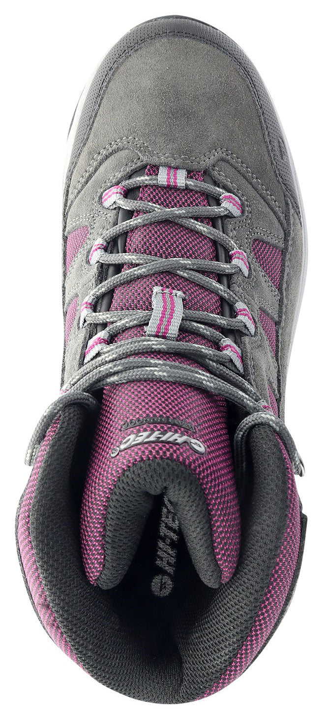 Upper view Ladies Bandera Waterproof Hiking Boots by Hi-Tec