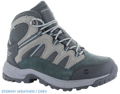 Stormy Weather Grey Hi-Tec Ladies Bandera Lite Waterproof Boots