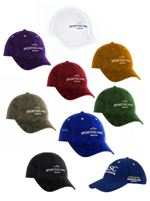 Sporting Hares Collection Hat | Colour: Navy, Honey Tan, Oxblood Red, Emerald Green, Arctic White, BASC, Black, Dark Plum, Gunmetal Grey