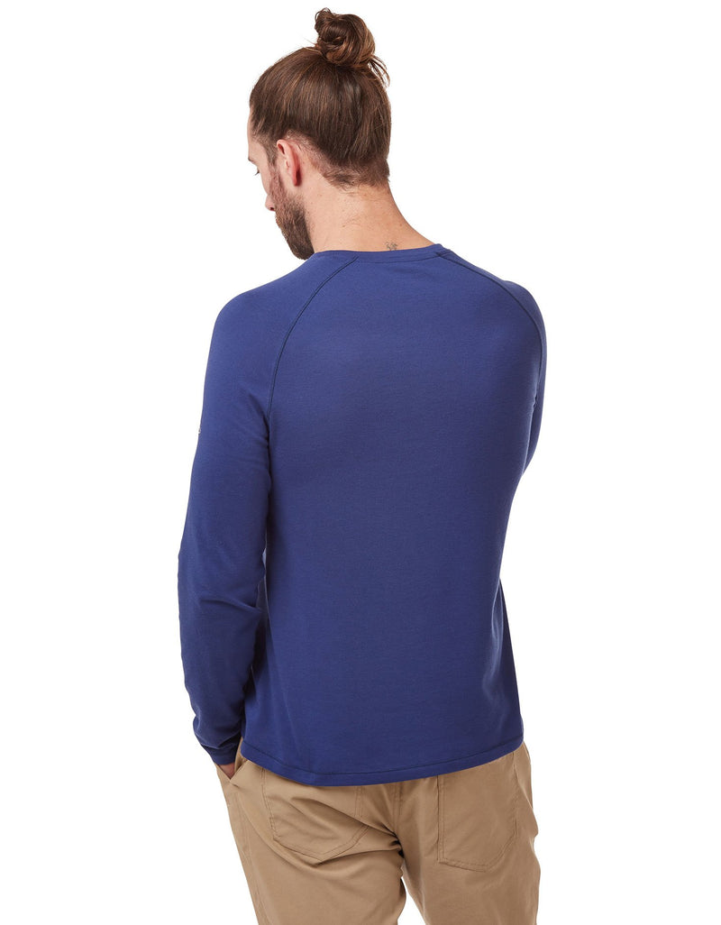 Back view Bayame Long Sleeved T-Shirt by Craghoppers