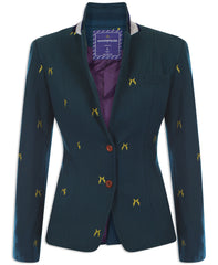 Sporting Hares Beauchamp Blazer | Royal Teal