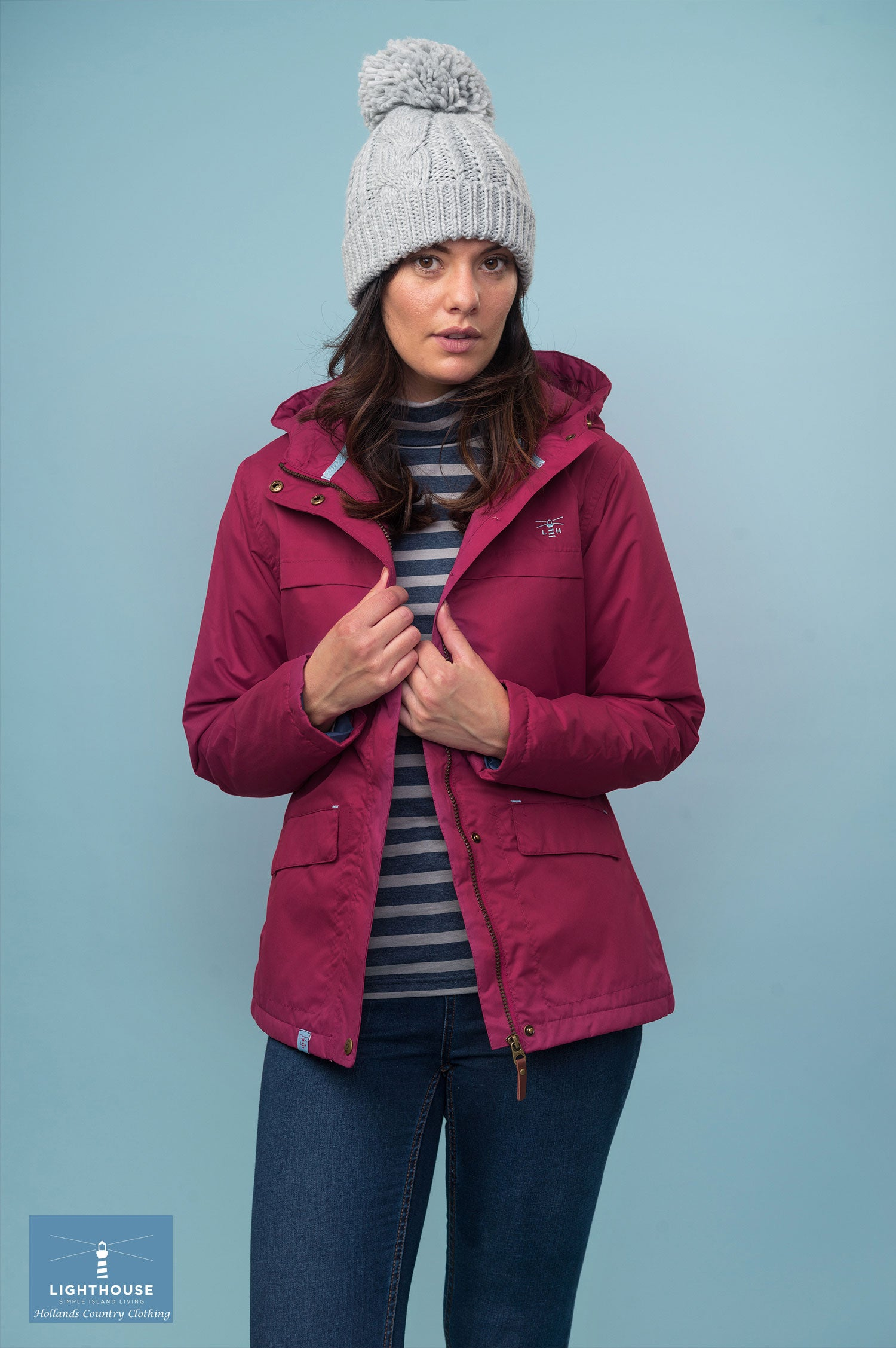 winter jacket Beaufort Waterproof Jacket by Lighthouse