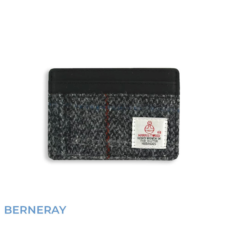 Berneray British Bag Co. Harris Tweed Card Holder