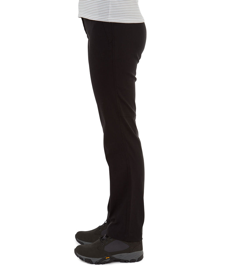 Black side view Craghoppers Kiwi Pro II Ladies Trousers
