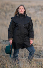 Black Jack Murphy Cotswold Ladies Waterproof  3/4 Coat