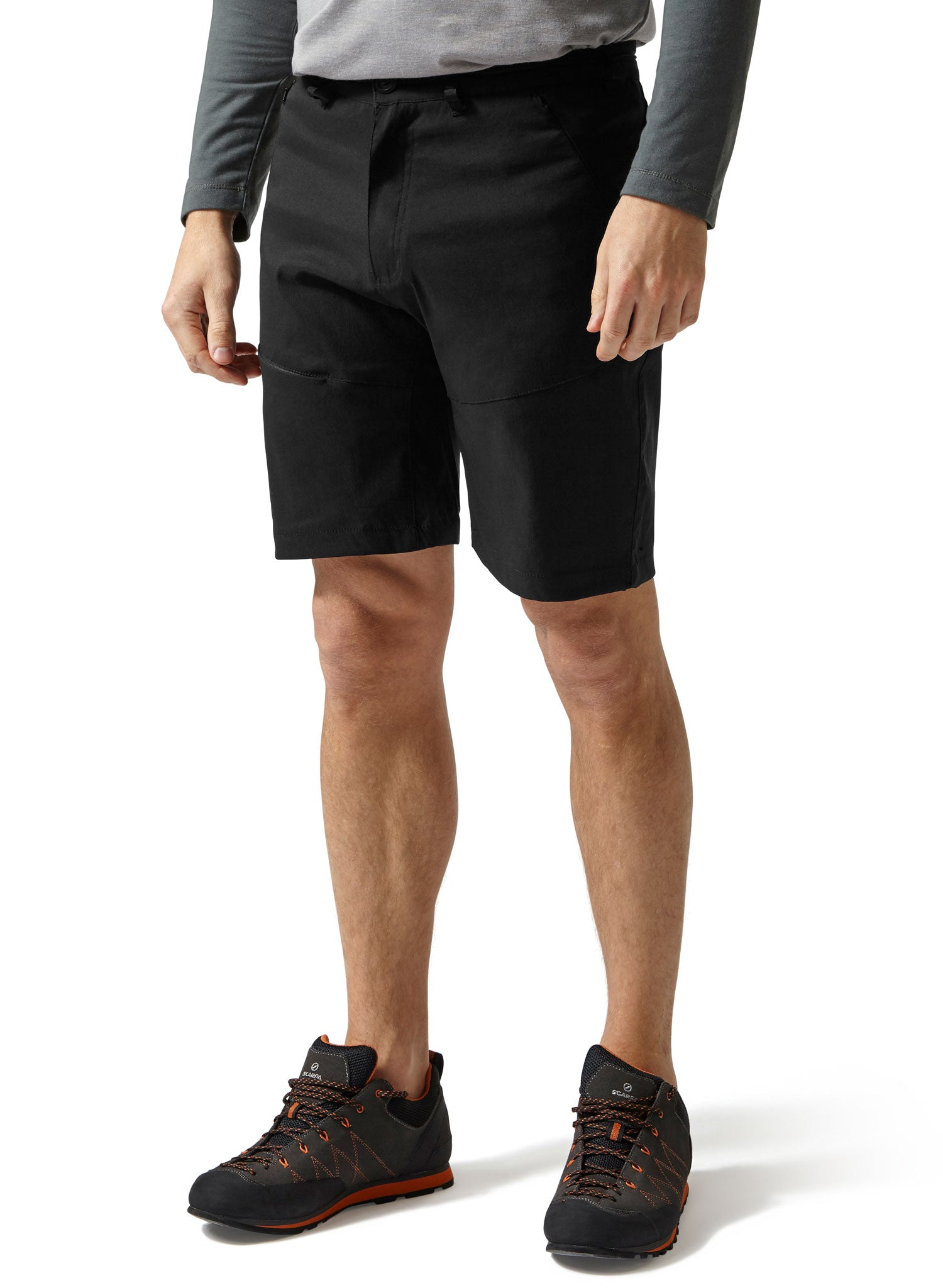 Black outdoors shorts