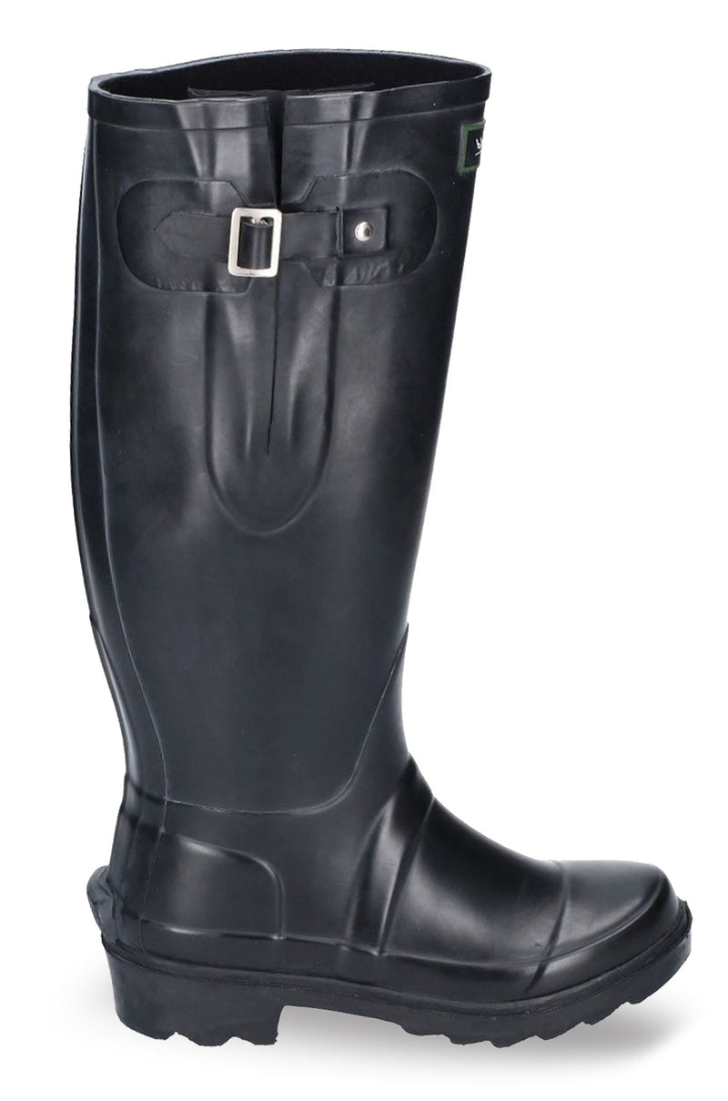 Black Rubber Wellingtons
