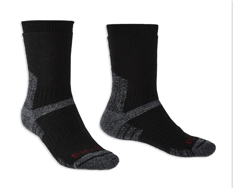 Black Bridgedale Explorer Heavyweight Boot Sock